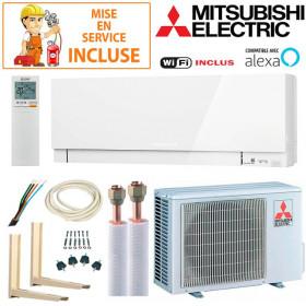 Pack Confort Climatiseur Mitsubishi MSZ-EF25VGKW