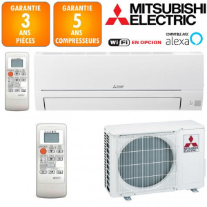Climatiseur Réversible Mitsubishi MSZ-HR35VF