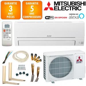 Pack Climatisation Mitsubishi Réversible MSZ-HR35VF