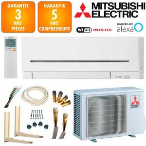 Pack Climatisation Mitsubishi Réversible MSZ-AP35VGK