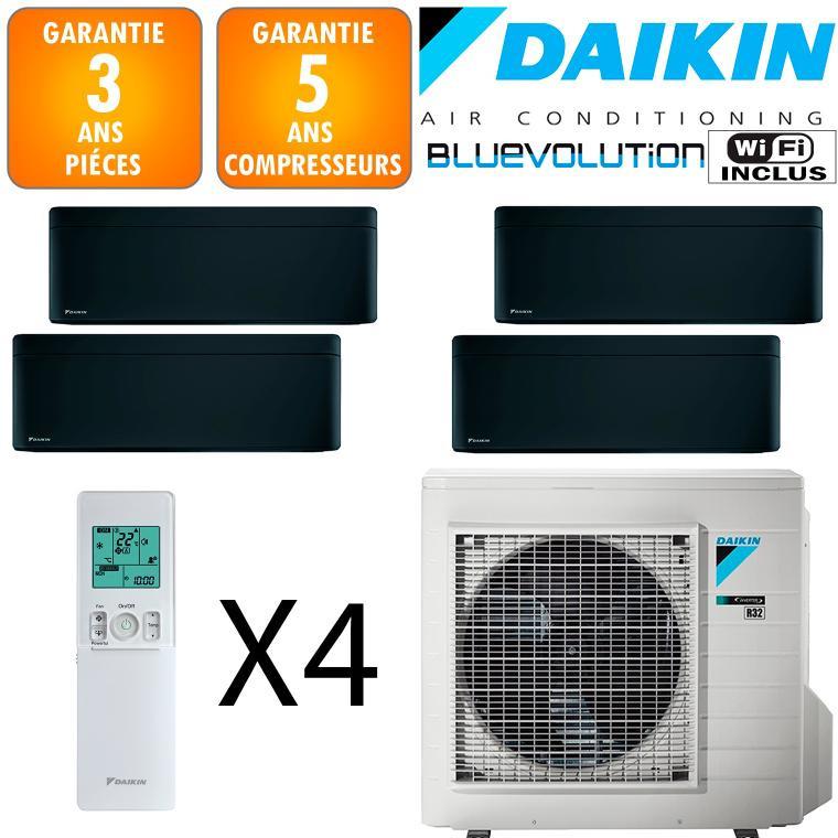 Daikin Quadri-split Stylish 4MXM80N + 3 X FTXA20BB + FTXA25BB