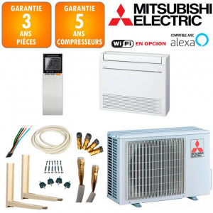 Pack Climatisation Console Double Flux Mitsubishi MFZ-KT35VG