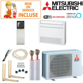 Pack Confort Climatiseur Console Mitsubishi MFZ-KT25VG