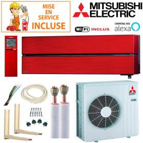 Pack Confort Climatisation Mitsubishi MSZ-LN60VGR