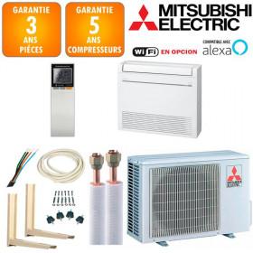 Pack Climatiseur à faire poser Console Mitsubishi MFZ-KT25VG