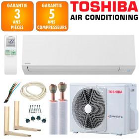 Pack Climatiseur à faire poser TOSHIBA SHORAI 13 + RAS-13J2AVSG-E