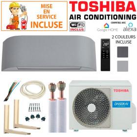 Pack Confort Climatiseur Toshiba HAORI 10 + RAS-10PAVSG-E