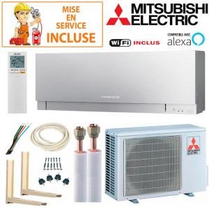 Pack Confort Climatiseur Mitsubishi MSZ-EF25VGKS