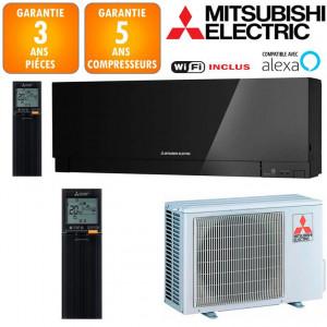 Climatiseur Mitsubishi MSZ-EF25VGKB + MUZ-EF25VG