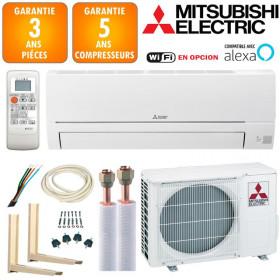 Pack Climatiseur à faire poser Mitsubishi MSZ-HR25VF