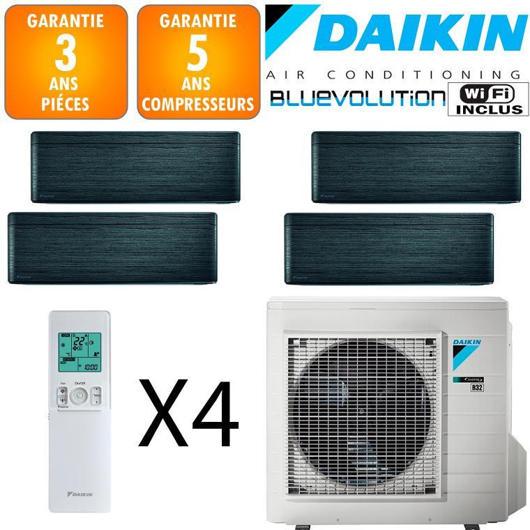 Daikin Quadri-split Stylish 5MXM90N + 2 X CTXA15BT + FTXA35BT + FTXA50BT