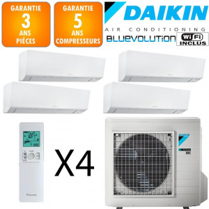 Daikin Quadri-split 4MXM80N + 3 X FTXM20R + FTXM25R