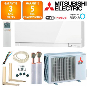 Pack Climatiseur à faire poser Mitsubishi MSZ-EF35VGKW