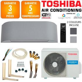 Pack Climatiseur TOSHIBA HAORI 13 + RAS-13J2AVSG-E