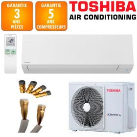Climatiseur Prêt à poser TOSHIBA SHORAI 13 + RAS-13J2AVSG-E