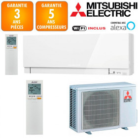 Climatiseur Mitsubishi MSZ-EF25VGKW + MUZ-EF25VG