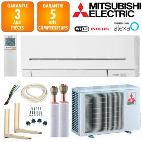 Pack Climatiseur à faire poser Mitsubishi MSZ-AP25VGK