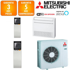 Climatisation Console Double Flux Mitsubishi MFZ-KT50VG