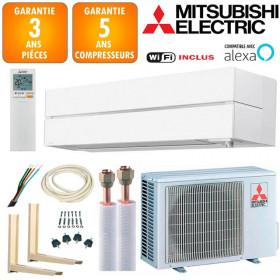 Pack Climatiseur à faire poser Mitsubishi MSZ-LN25VGW
