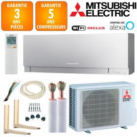Pack Climatiseur à faire poser Mitsubishi MSZ-EF25VGKS