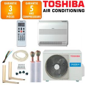 Pack Climatiseur à faire poser Console Toshiba  RAS-B13J2FVG-E