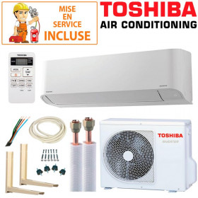 Pack Confort Climatisation Toshiba Seiya RAS-18J2KVG-E