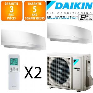 Daikin Bi-split inverter 2MXM50N + 2 EMURA FTXJ25MW