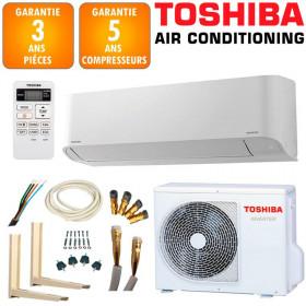 Pack Climatisation Mural Toshiba Seiya RAS-B13J2KVG-E + RAS-13J2AVG-E
