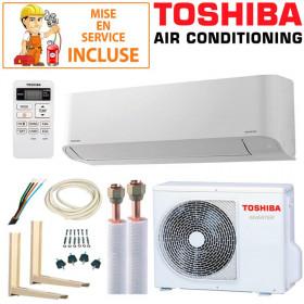Pack Confort Climatisation Toshiba Seiya RAS-B13J2KVG-E + RAS-13J2AVG-E