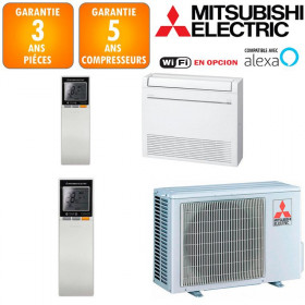 Climatisation Console Double Flux Mitsubishi MFZ-KT35VG