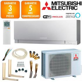 Pack Climatiseur Mitsubishi MSZ-EF25VGKS + MUZ-EF25VG