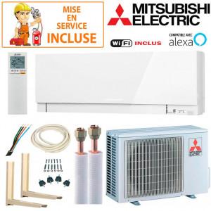 Pack Confort Climatiseur Mitsubishi MSZ-EF35VGKW