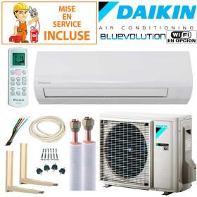 Pack Confort Climatiseur Daikin Sensira FTXF25C