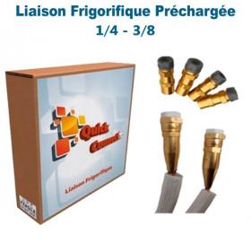 Liaison Frigorifique Préchargée 1/4-3/8 Quick Connect Plus Pack4