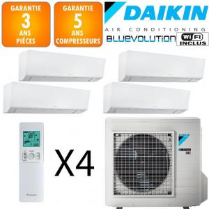 Daikin Quadri-split 4MXM80N + 3 X CTXM15R + FTXM35R