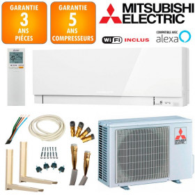 Pack Climatiseur Mitsubishi MSZ-EF35VGKW + MUZ-EF35VG