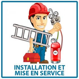 Installation et mise en service du climatiseur Bi-Split