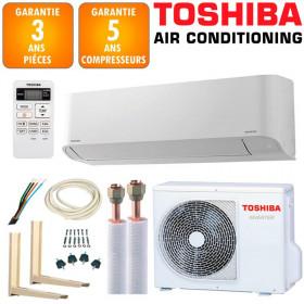 Pack Climatiseur à faire poser Toshiba Seiya RAS-B13J2KVG-E + RAS-13J2AVG-E