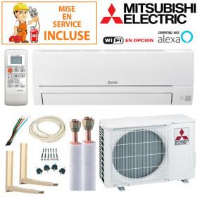 Pack Confort Climatisation Mitsubishi MSZ-HR25VF