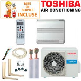 Pack Confort Climatiseur Console Toshiba RAS-B18J2FVG-E