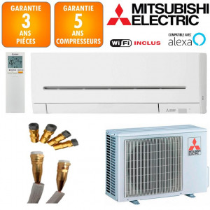 Climatisation Prêt à poser Mitsubishi MSZ-AP25VGK