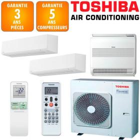 Toshiba Tri-split Shorai RAS-5M34U2AVG-E + RAS-M05J2KVSG-E + RAS-B10J2FVG-E + RAS-B24J2KVSG-E