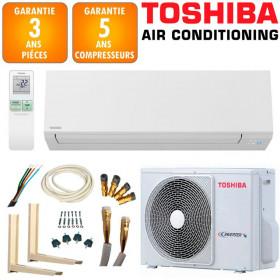 Pack Climatiseur TOSHIBA SHORAI 13 + RAS-13J2AVSG-E