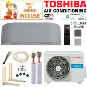 Pack Confort Climatiseur Toshiba HAORI 13 + RAS-13J2AVSG-E