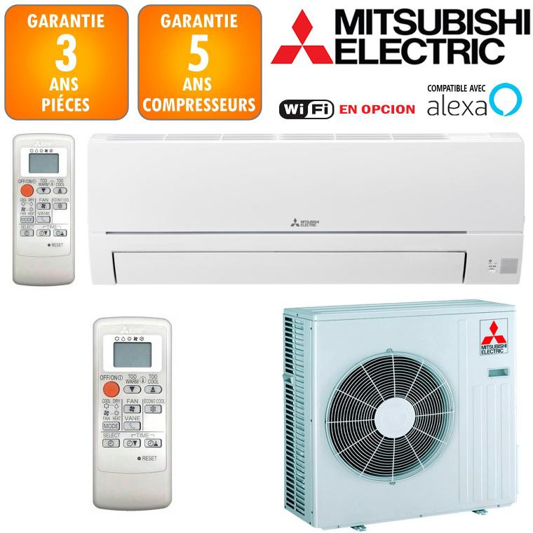 Climatiseur Réversible Mitsubishi MSZ-HR71VF