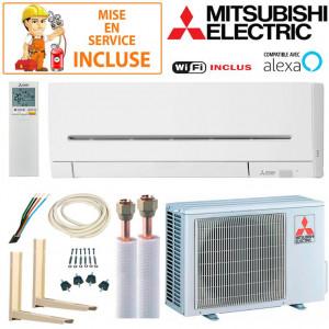 Pack Confort Climatisation Mitsubishi MSZ-AP25VGK