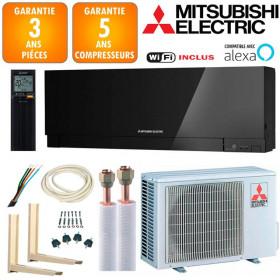 Pack Climatiseur à faire poser Mitsubishi MSZ-EF25VGKB