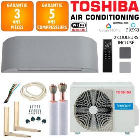 Pack Climatiseur à faire poser TOSHIBA HAORI 10 + RAS-10N4KVRG-E