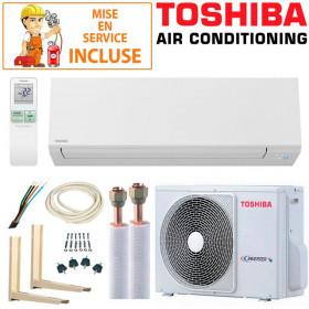Pack Confort Climatisation Toshiba SHORAI 10 + RAS-10J2AVSG-E