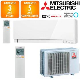 Climatiseur Mitsubishi MSZ-EF35VGKW + MUZ-EF35VG